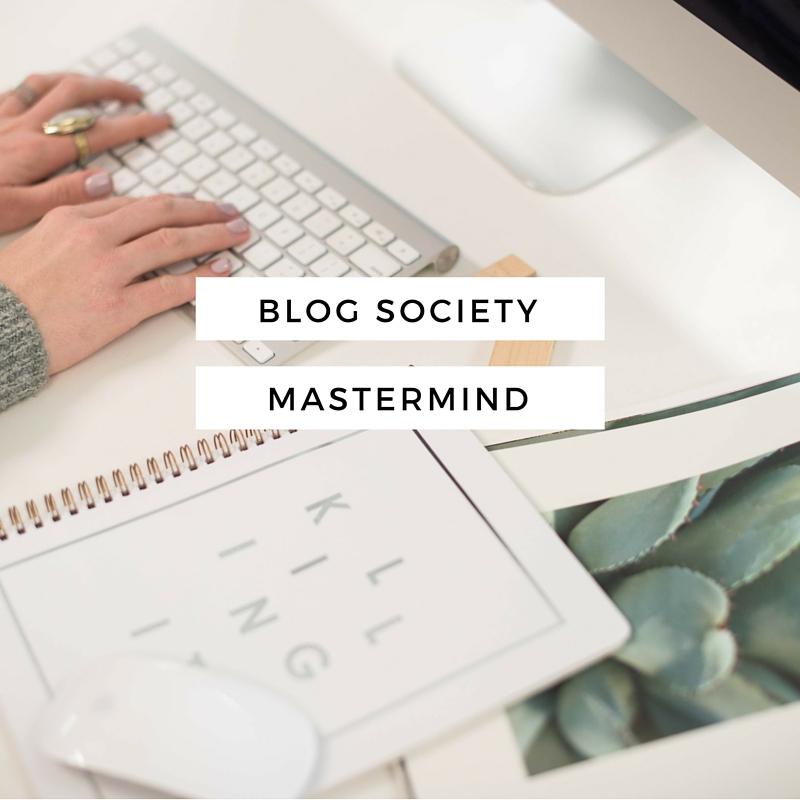 Blog Society Mastermind