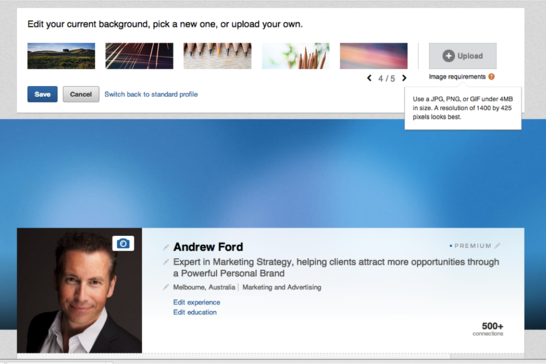 Business Tips No.2 - New LinkedIn And Twitter Banners 2014