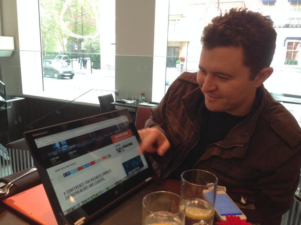 Dan Priestly and Lenovo