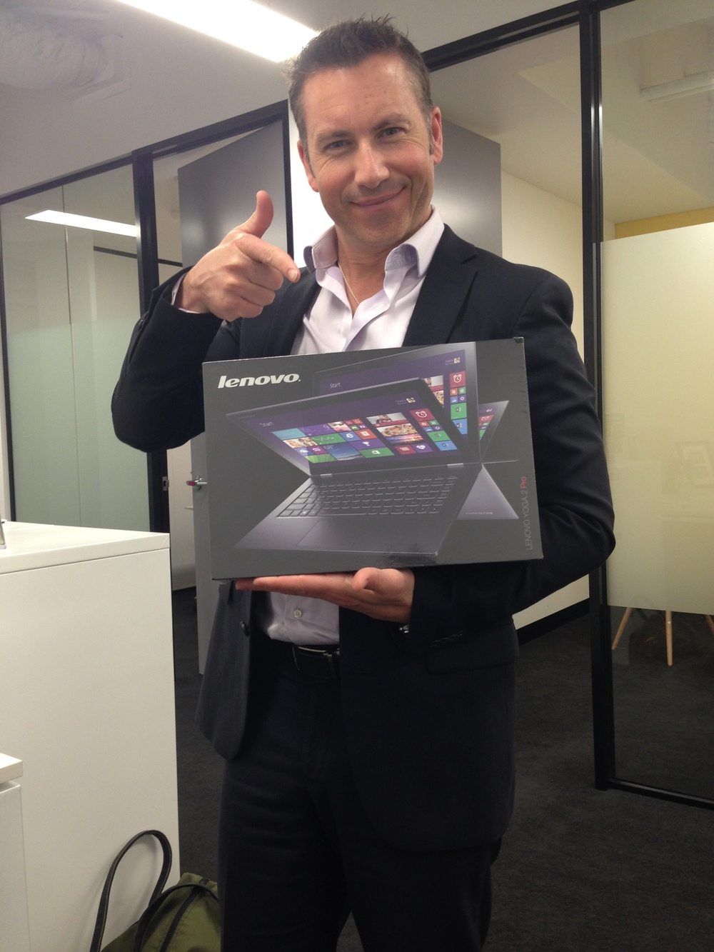 Lenovo sends me a Yoga 2 pro