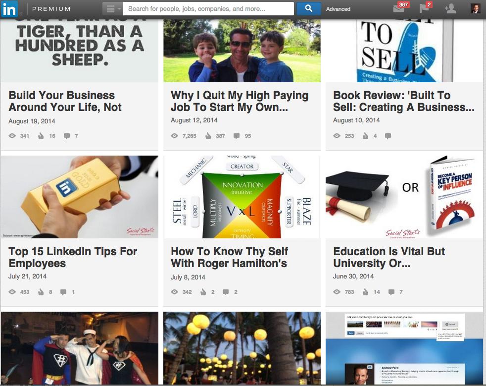 Blogging On LinkedIn - Getting Started Guide