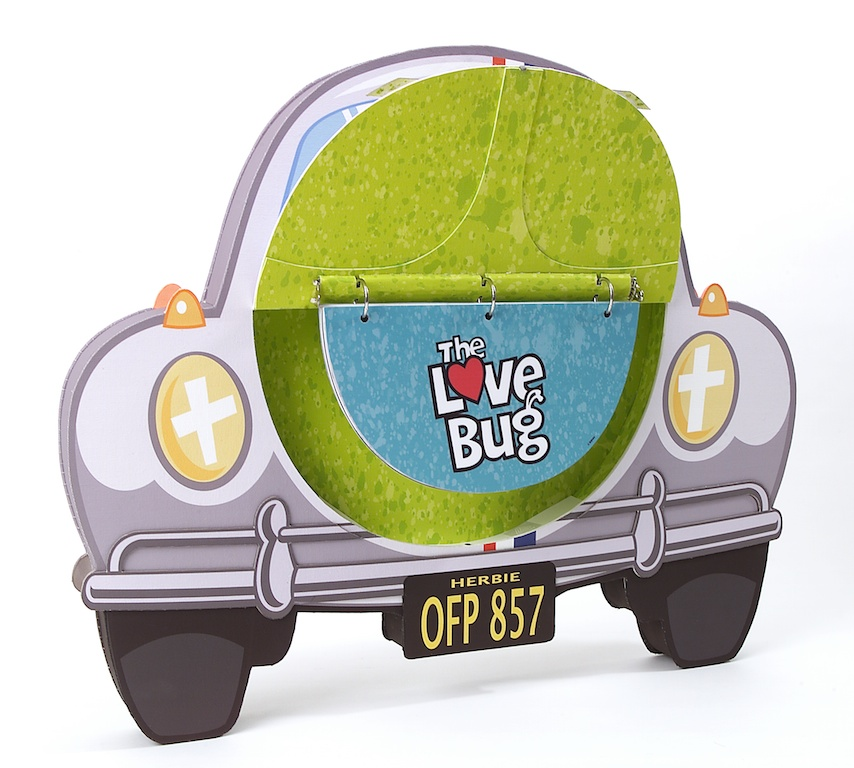 "3D portfolio presentation for ""The Love Bug"" remake"