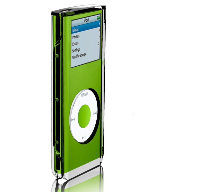 Mophie Radura case for iPod Nano rendering