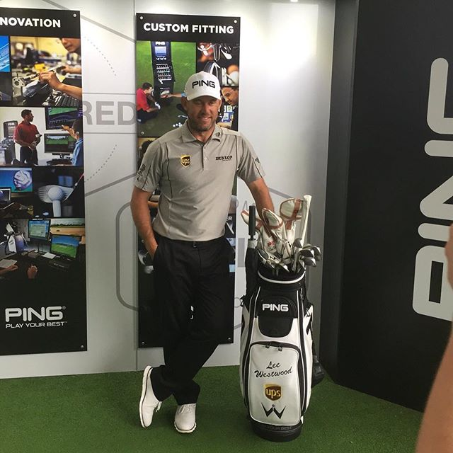 Great to have Lee Westwood visit The Belfry Academy today. #lovegolf #glflocker #pgacoach