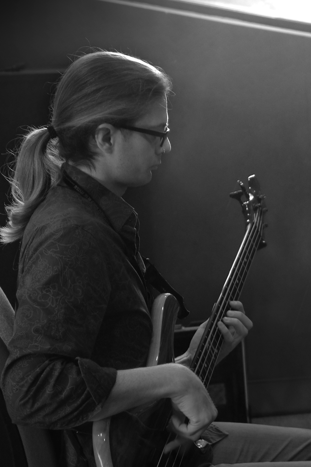 David de la Haye - Bass and electronics