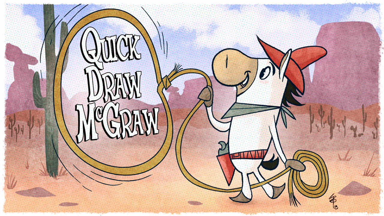 A lil Quick Draw McGraw pic