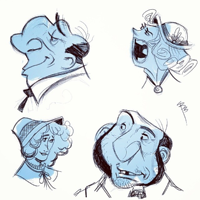 Here are some more phone #sketches.  I'm still just playing with shapes,  I haven't tried a full character on the phone yet.