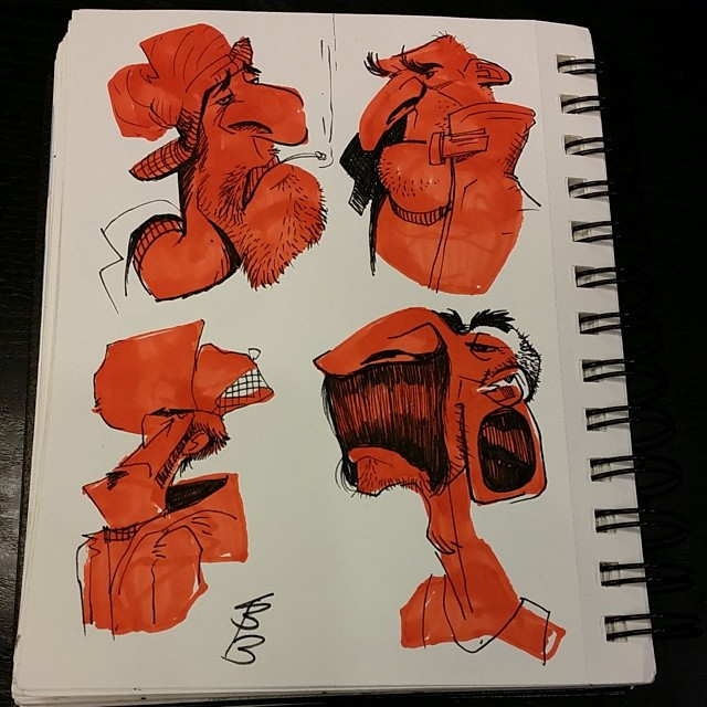 Here are a few more marker shape #sketches