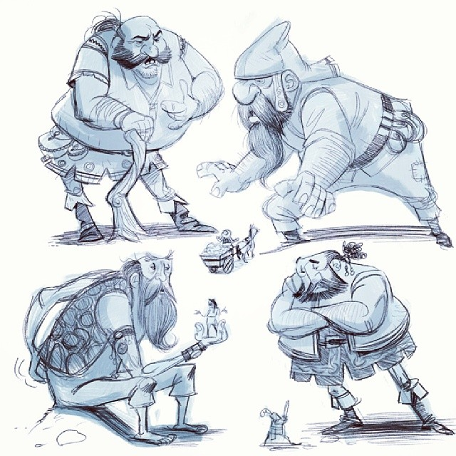 Here are some giant #sketches I did on my phone while waiting to see Kyle Kinane.