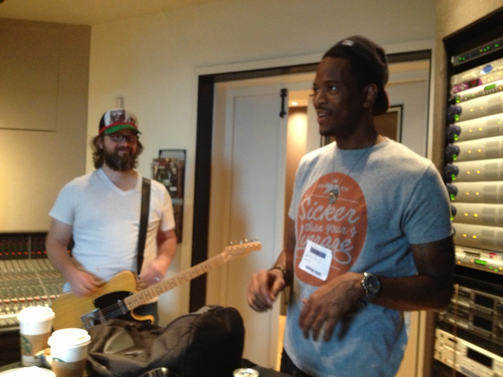 Guitarist Jonathan Shelton and Drummer Nate Robinson @ The Murray Sound Lab