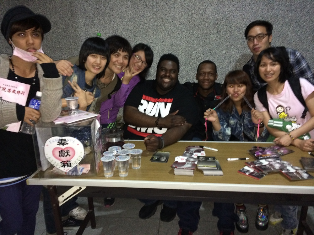 Fan meet and greet, Taiwan