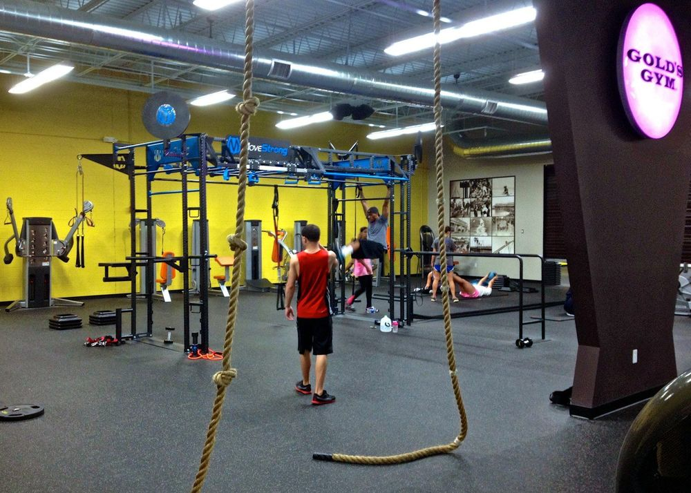 MoveStrong FTS training area