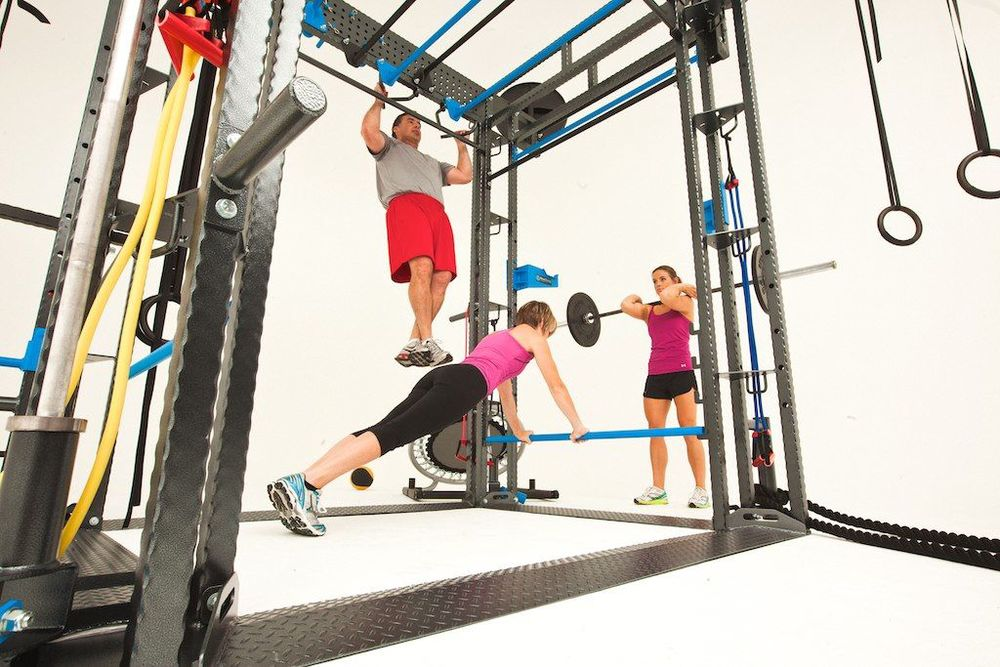 Cross-training-group-workout-equipment