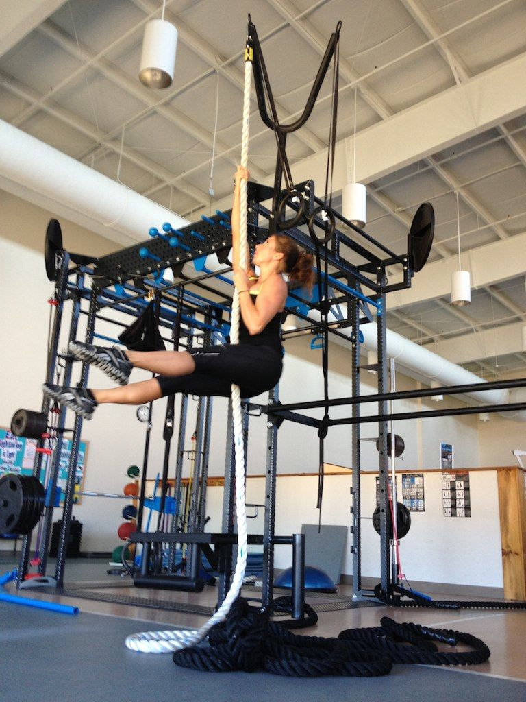 Rope climb-MoveSTrong FTS