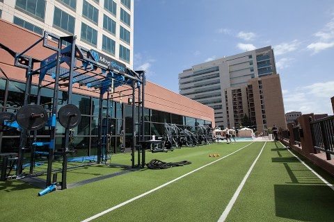 Outdoor fitness-gym-functional-training area