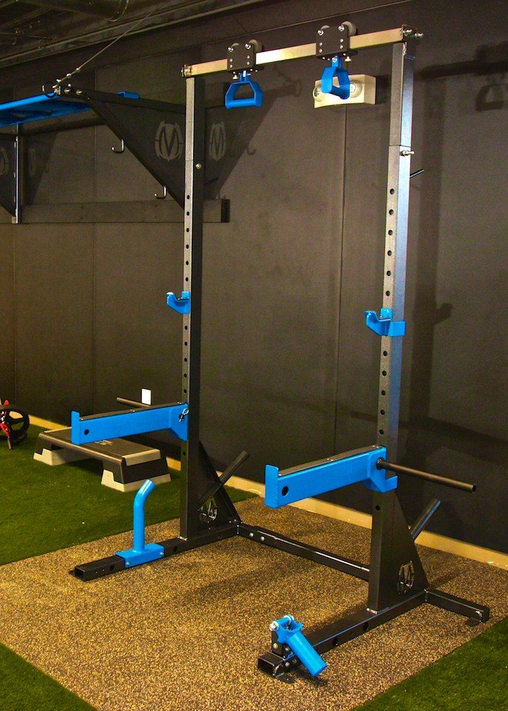 Squat Stand System Amp Options Movestrong
