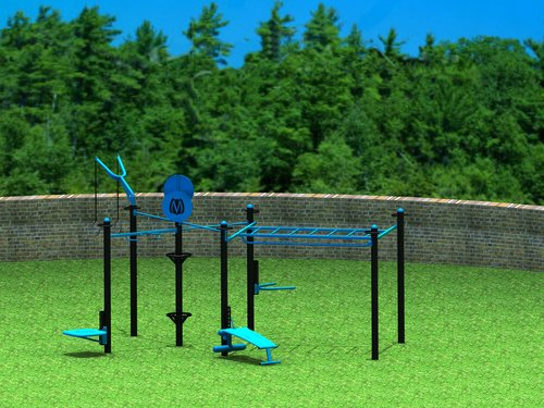 7 Post Monkey Bar Design