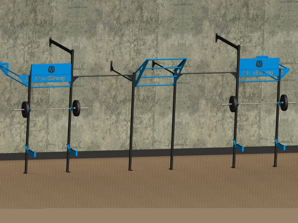 MoveStrong Foundations fitness rack