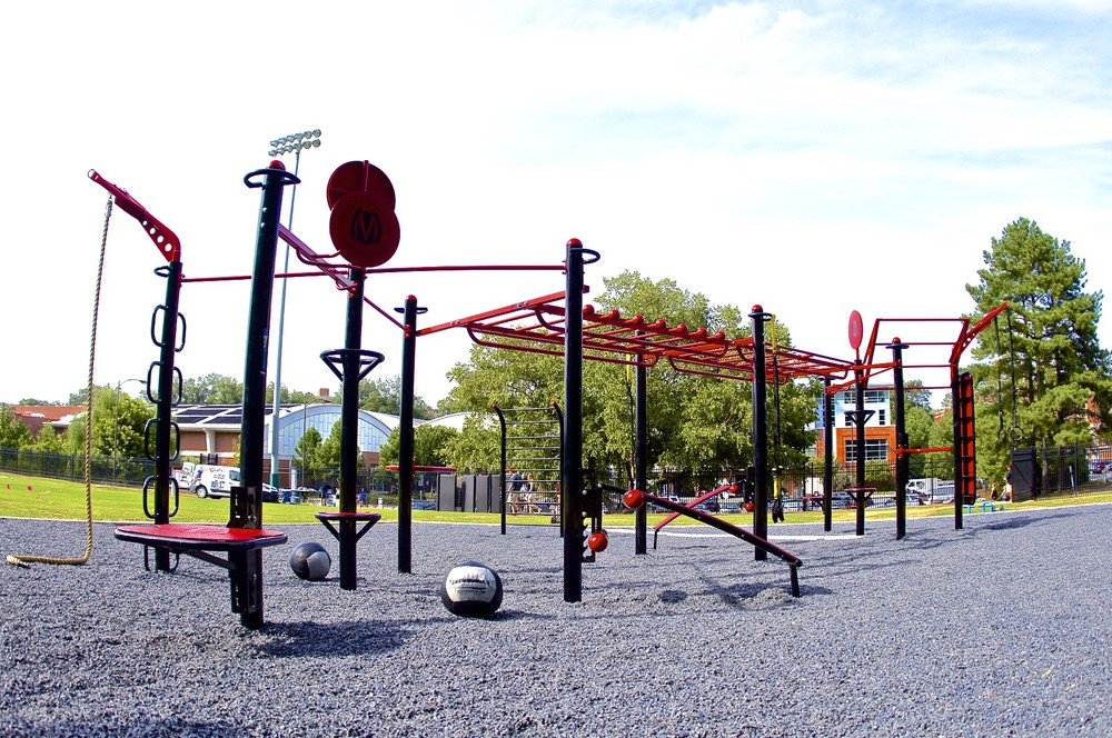 NC State MoveStrong Trex outdoor fitness