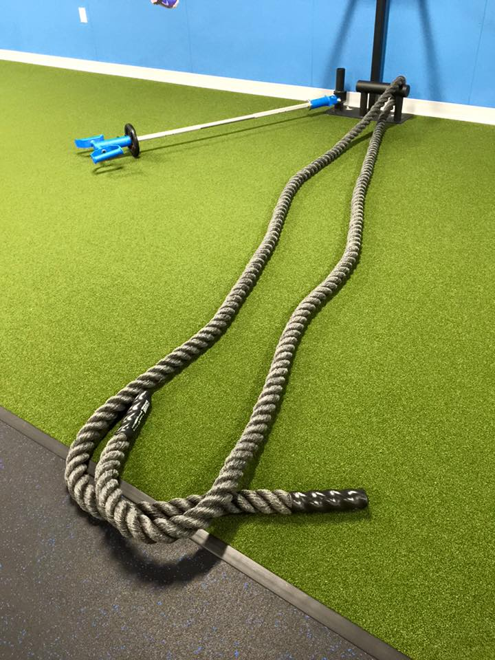 MoveStrong Training Post with Rope anchor and GRT