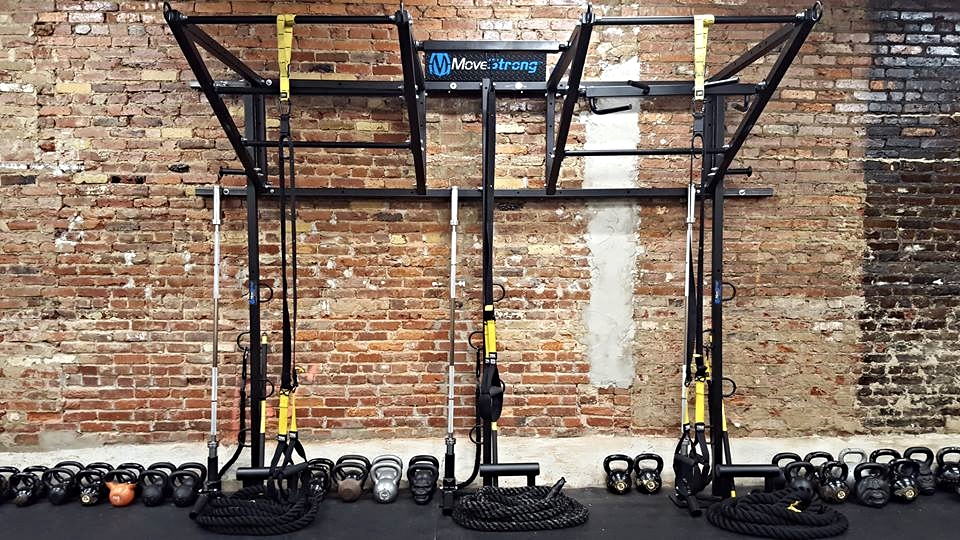 Double Wall Functional Training Station