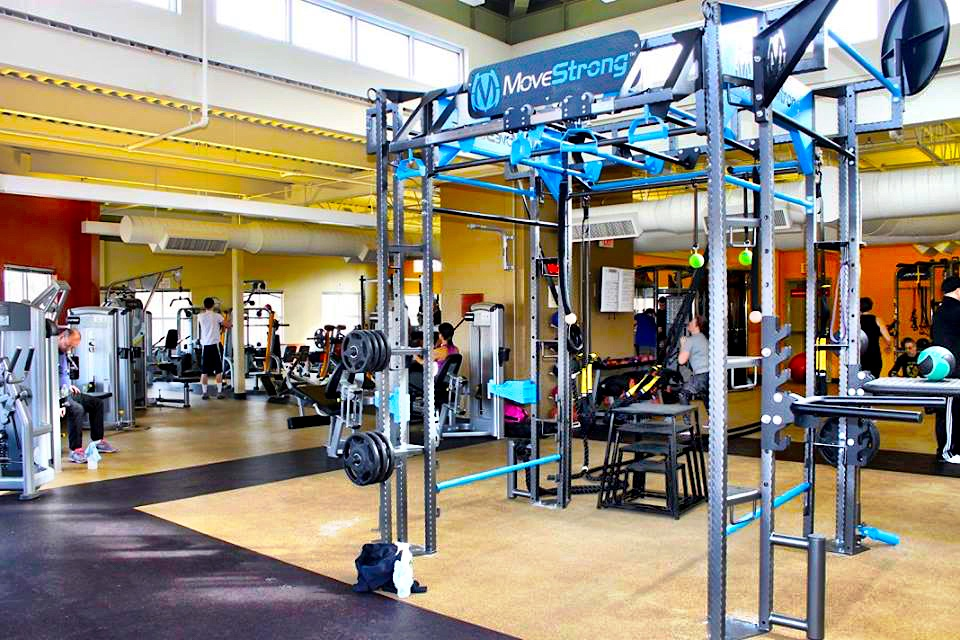 YMCA custom MoveStrong Functional Training Station