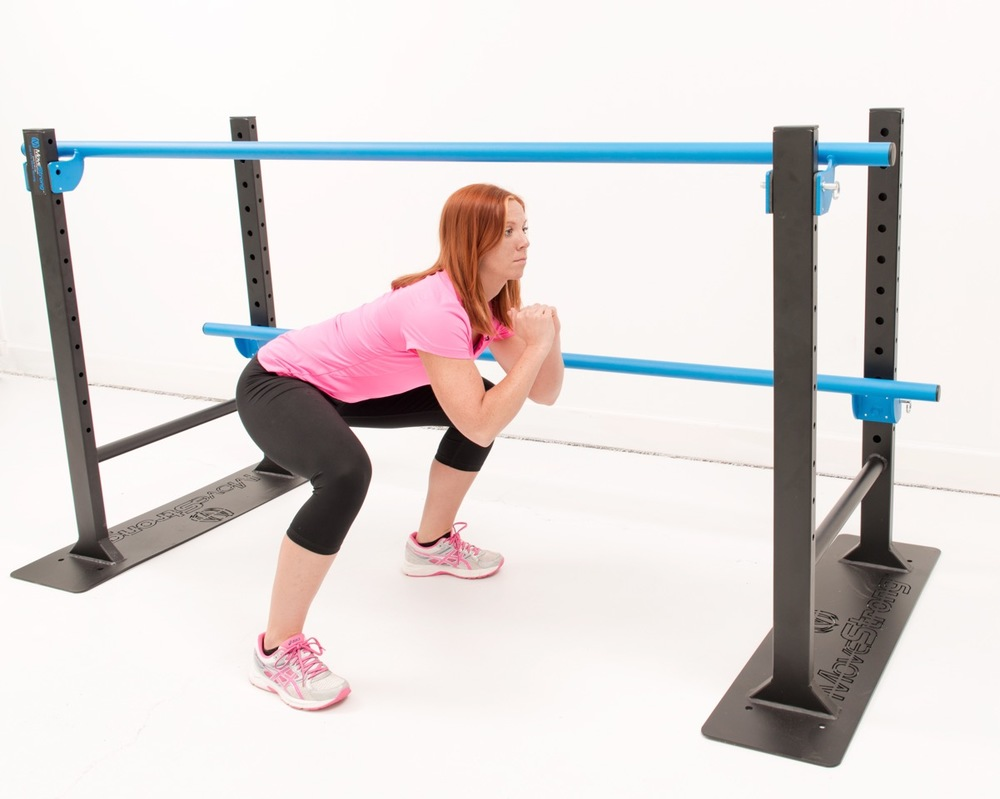 elite adjustable parallel bars - web only special - movestrong