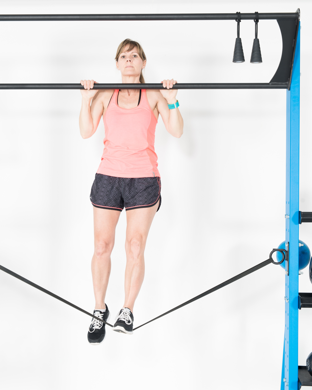 Band assist pull-ups