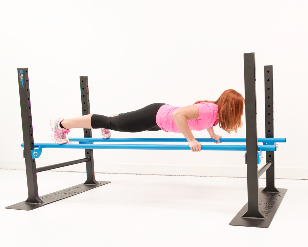 Low height setting for more scaled exercise variety