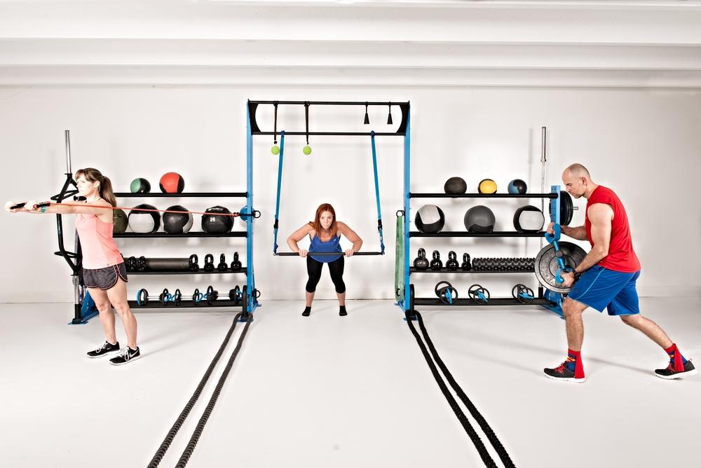 Elite Storage functional fitness rack