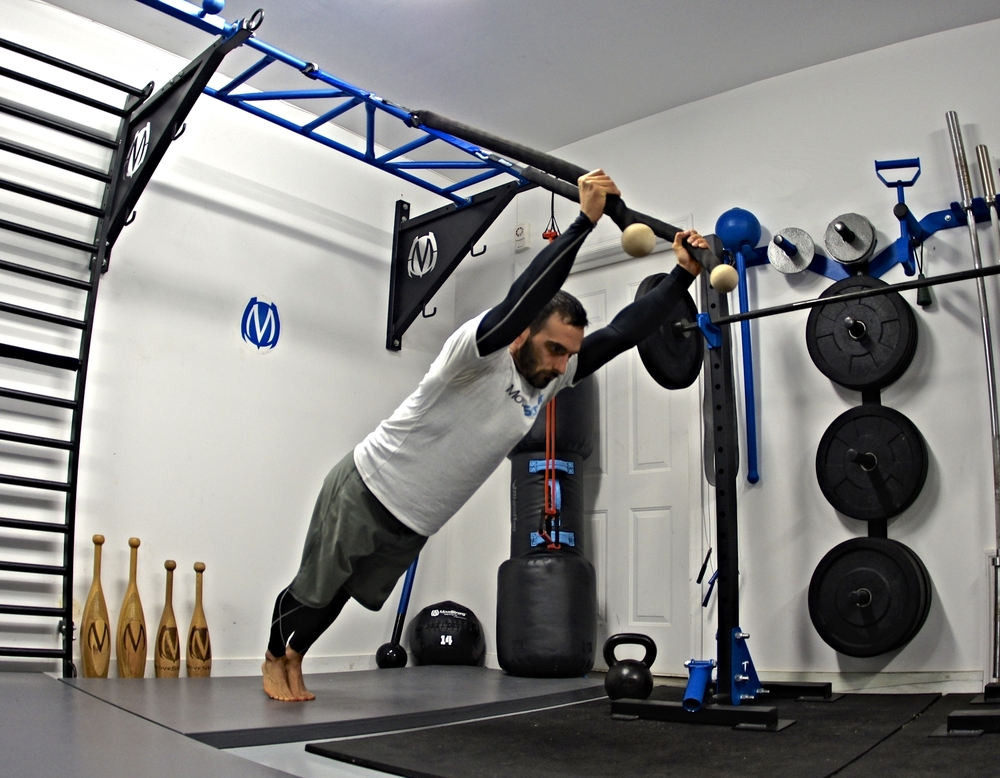 Suspension Tricep with Cobra Grips