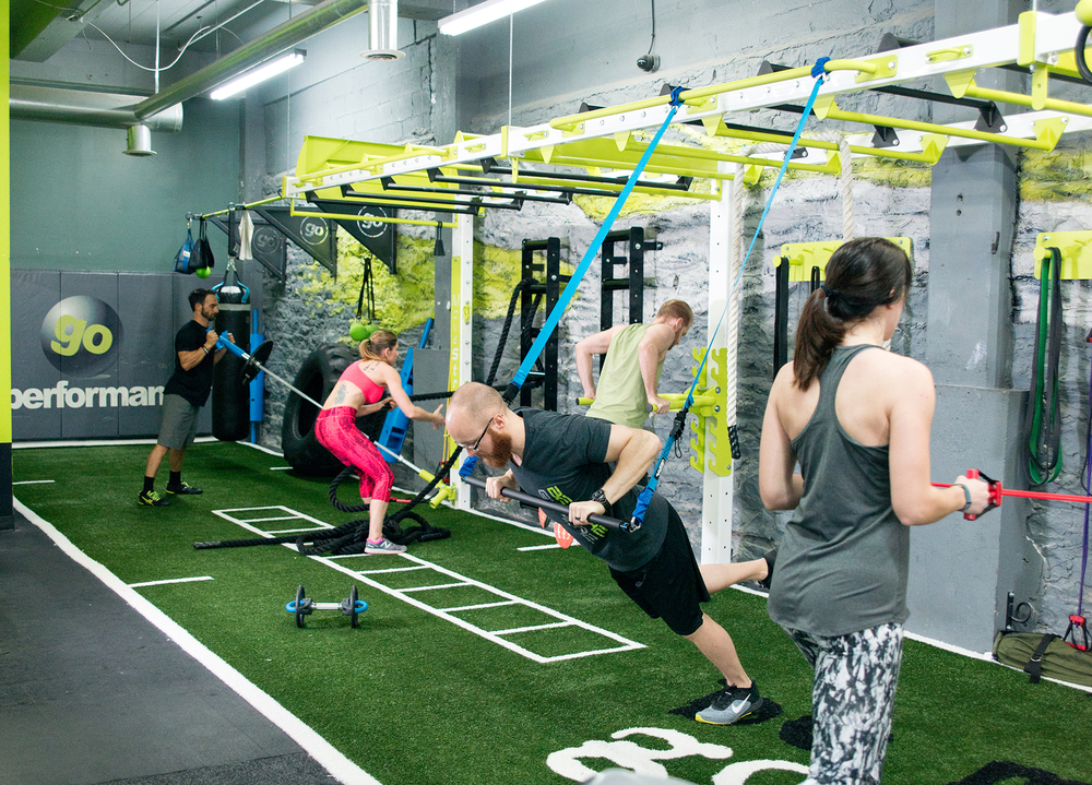Many functional fitness training options
