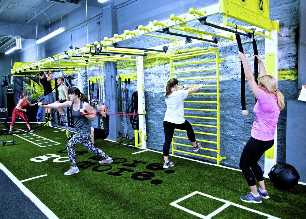 MoveStrong nova wall bridge FTS group workout