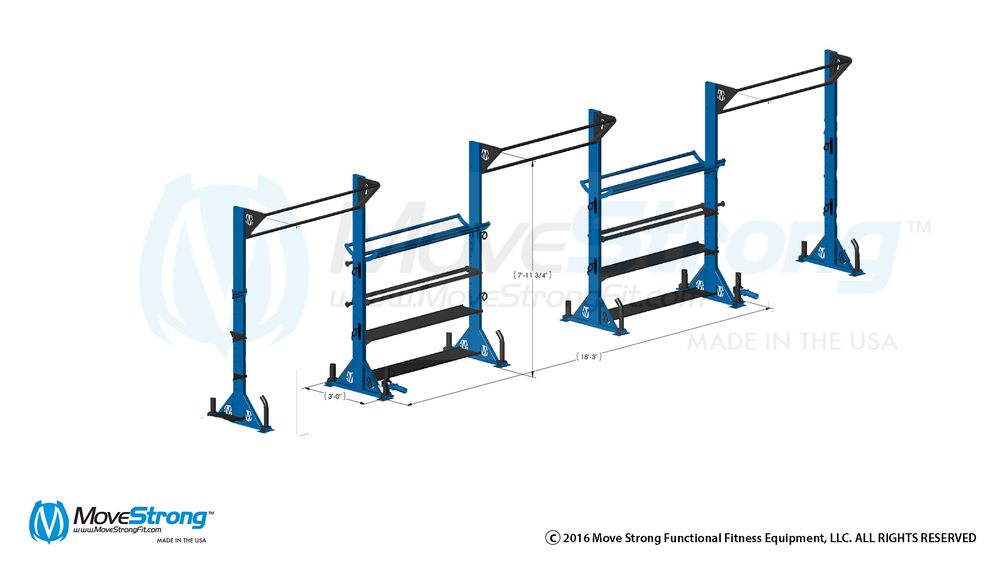 Build your storage based training rack