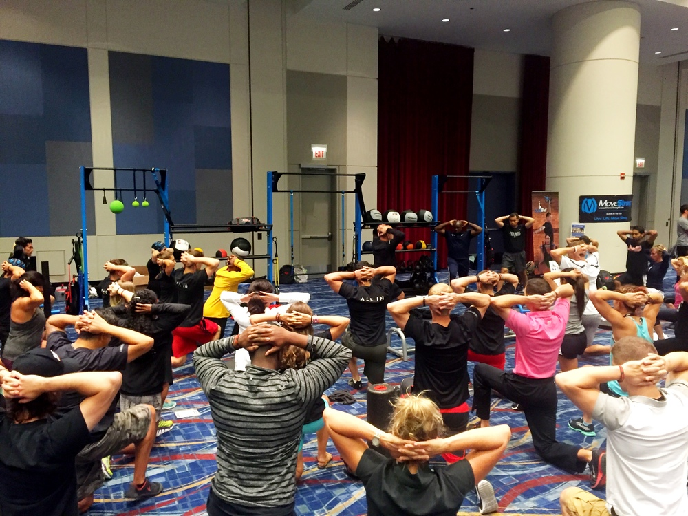 Personal training summit workshop