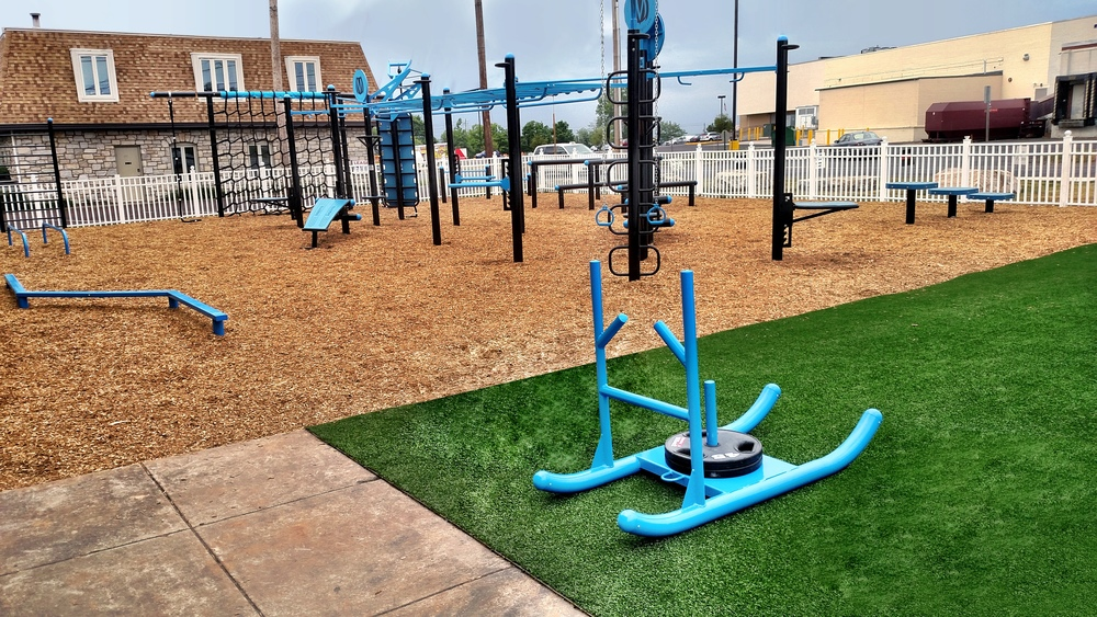 Turf area outdoor FitGround