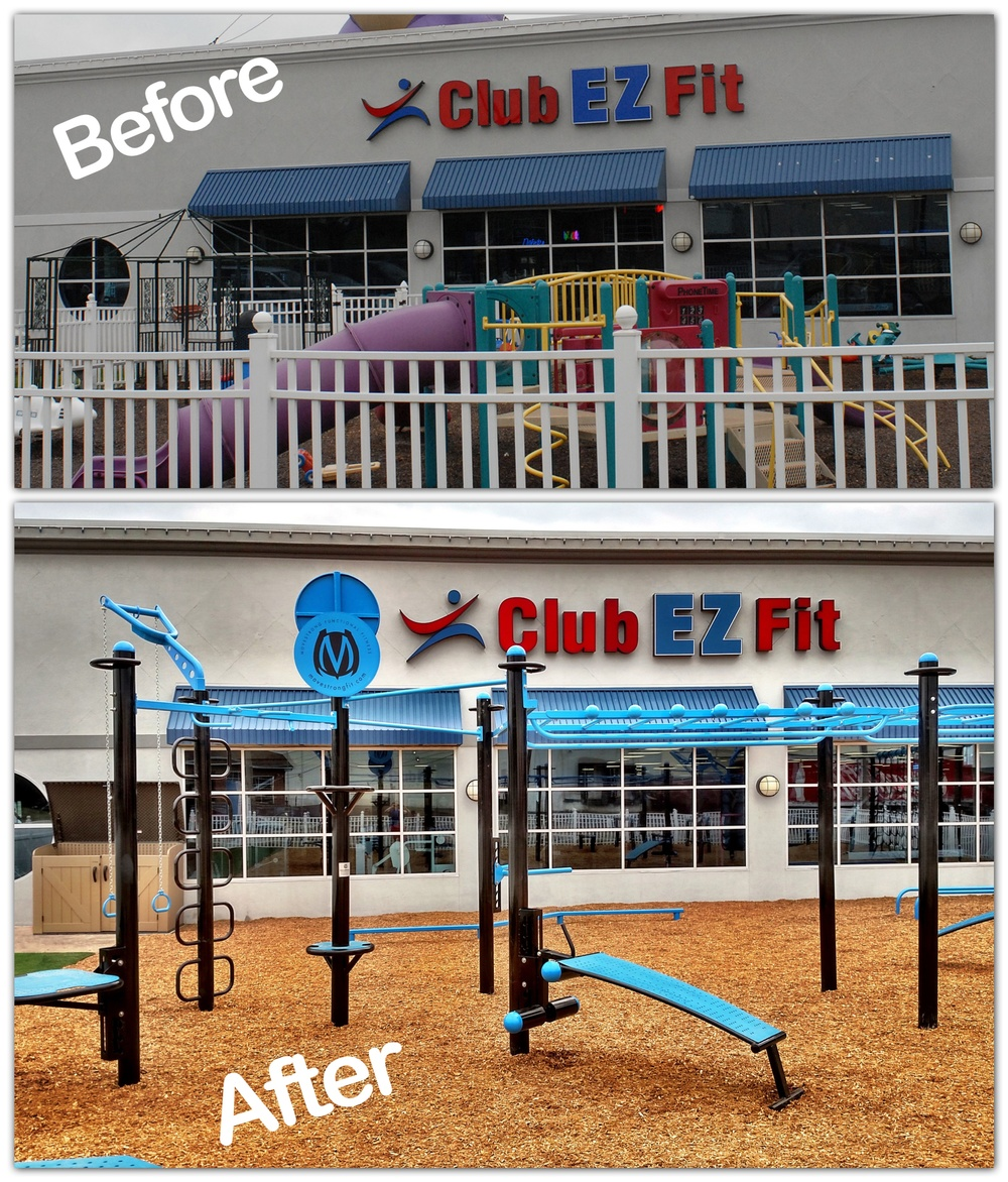 Before playground After FitGround