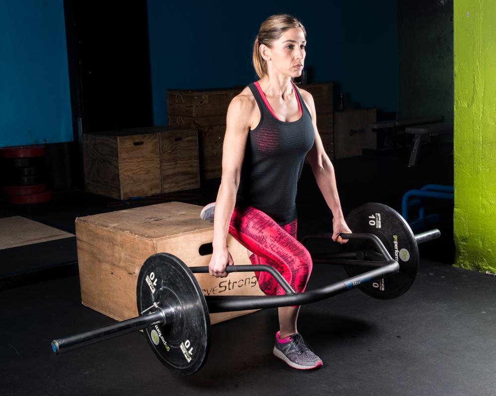 single leg squat DSL bar