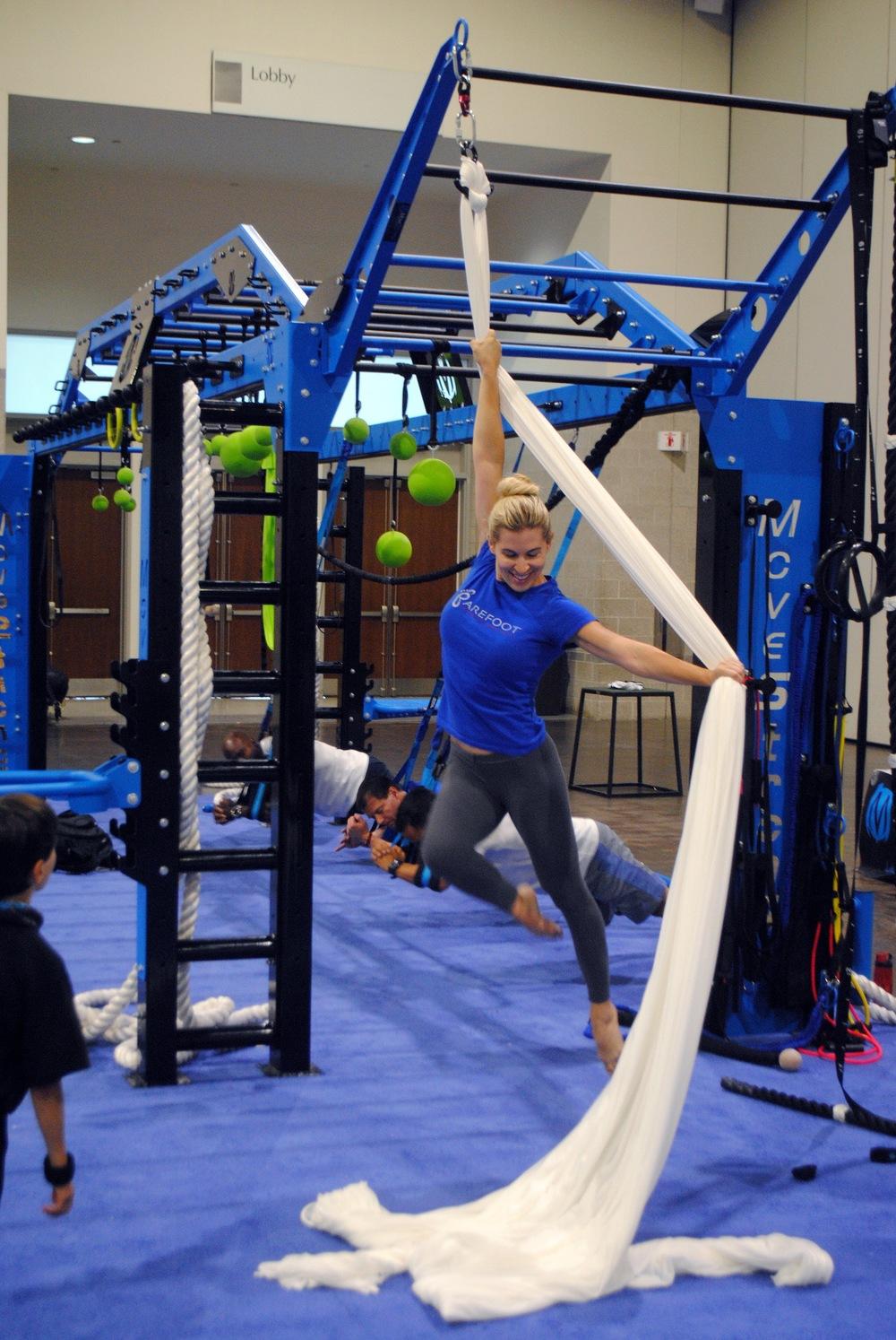 Aerial yoga Silks