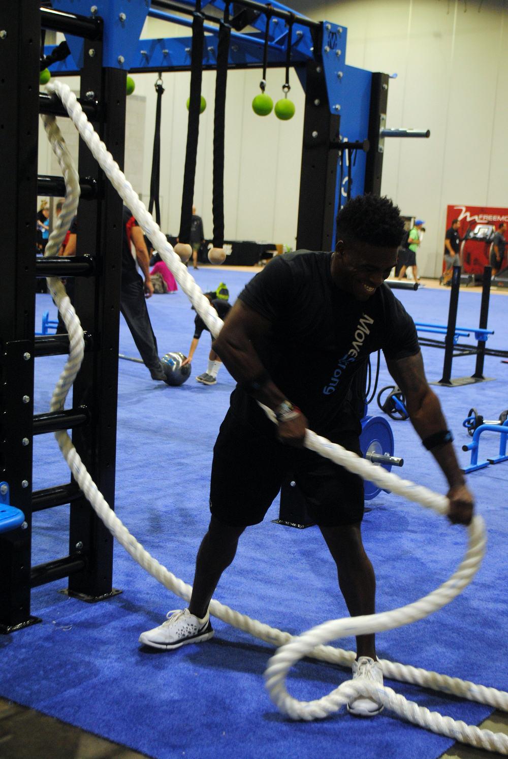 Side rope pulls