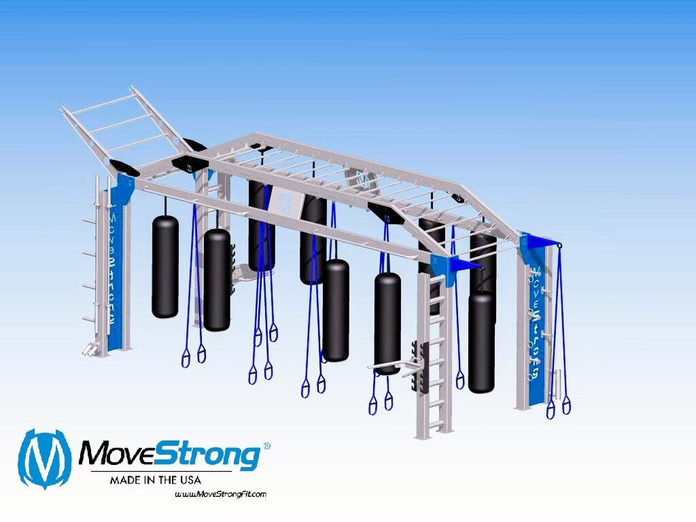 MoveStrong XL Bridge for MMA training