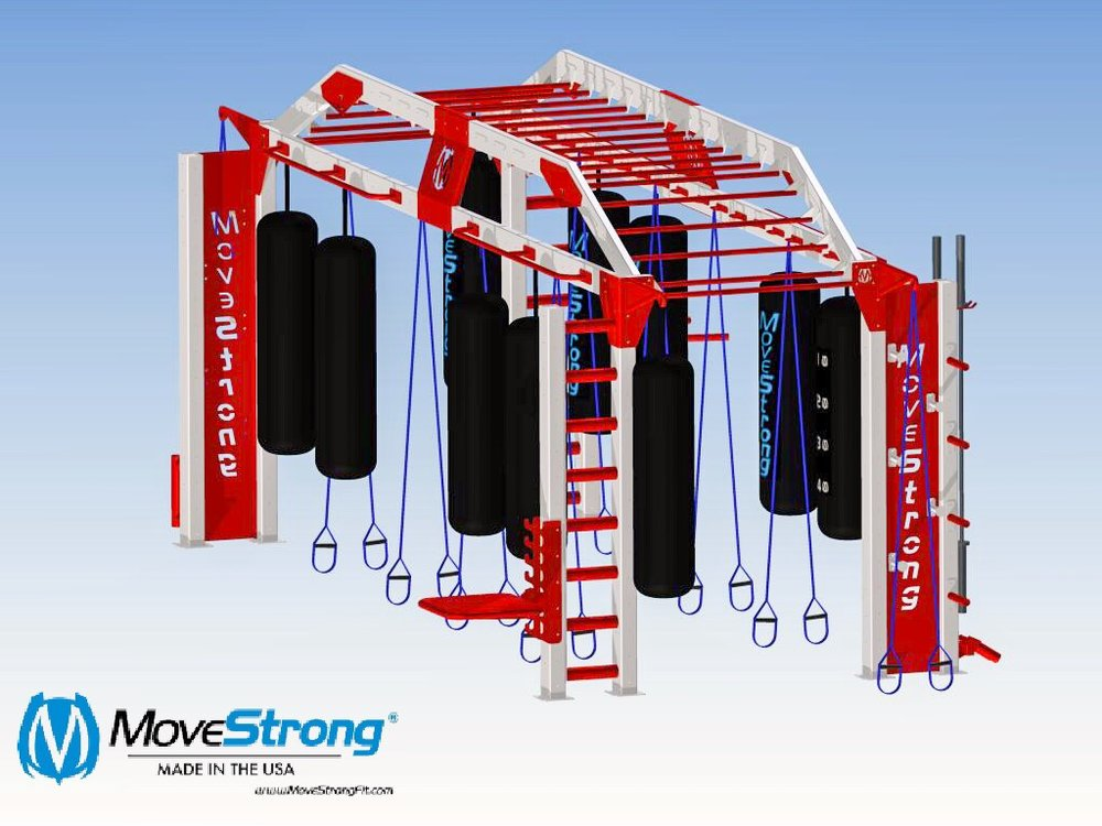 Nova FTS XL bridge for kickboxing group training