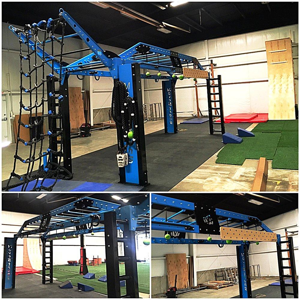 MoveStrong XL Bridge for Ninja Warrior Training