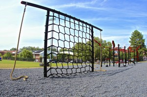 Cargo Net with Rope Climb stations