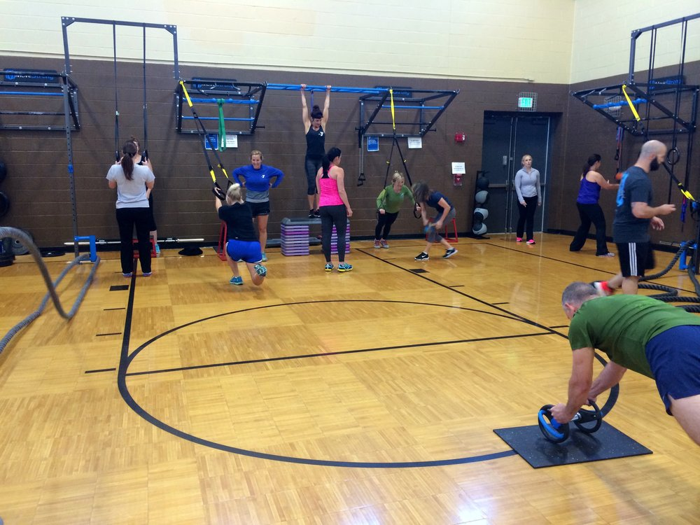 MoveStrong Group training workshop YMCA