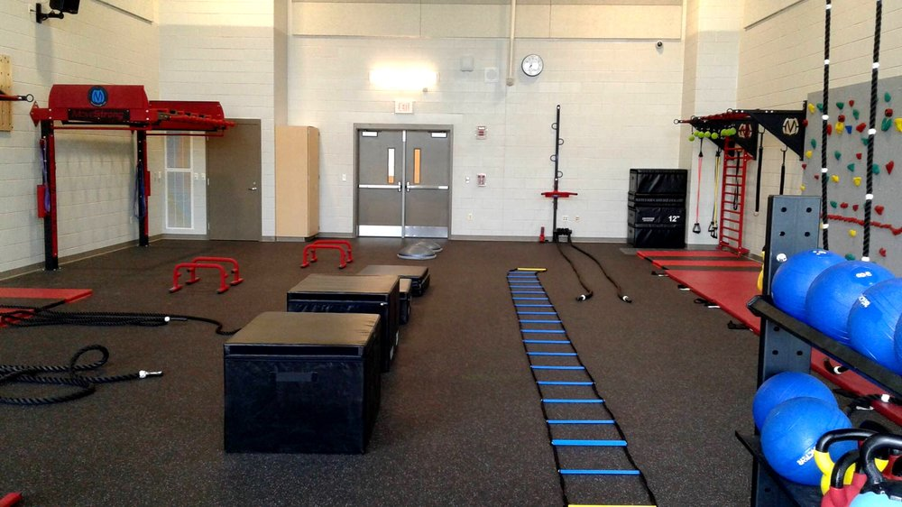 Agility and Plyometric area