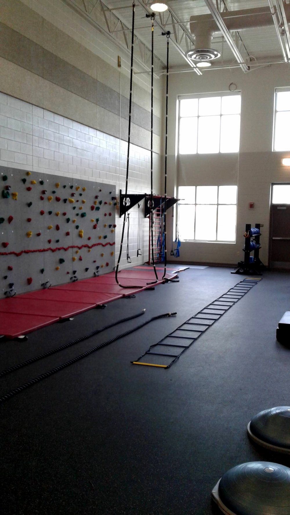 Climbing ropes for students
