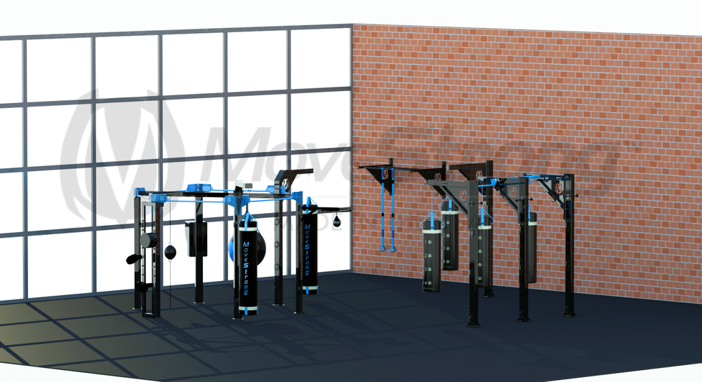 Fight Strong products MMA racks