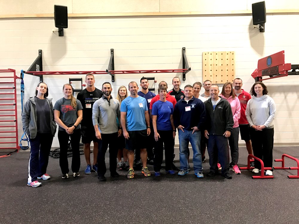 Physical Education teachers MoveStrong Workshop