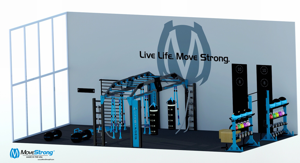 MoveStrong functional fitness Nova XL layout